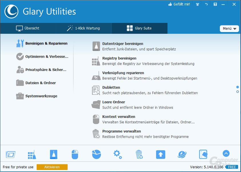 Glary Utilities – Glary Suite