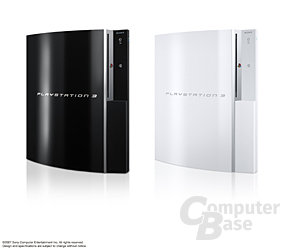 Neue Farbversionen der PlayStation 3 (Clear Black und Ceramic White)