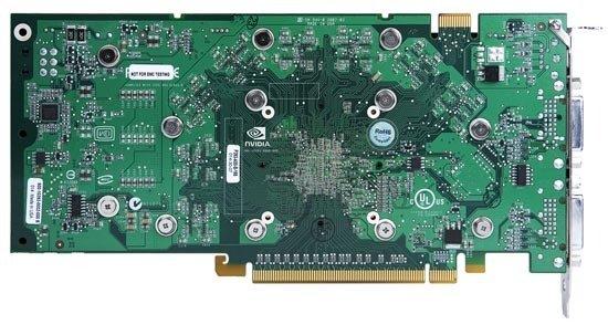 Rückseite GeForce 8800 GT
