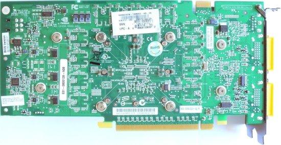Rückseite GeForce 8800 GTS