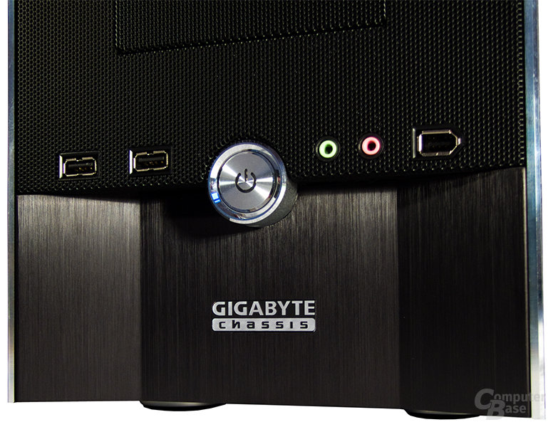 Gigabyte iSolo 210 – Frontdetails