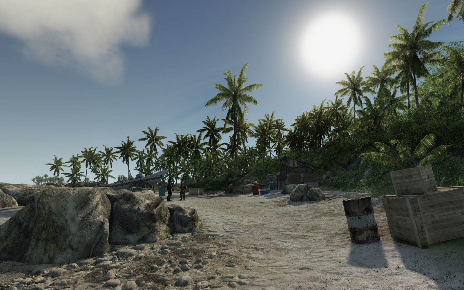 Insel VERY HIGH (DirectX-10)
