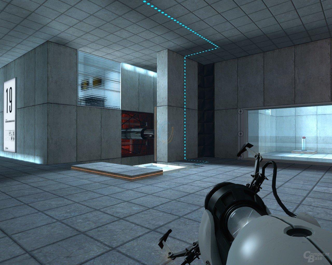 Portal: Dem Ziel so nah und doch so fern