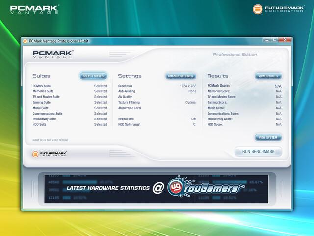 PCMark Vantage Professional