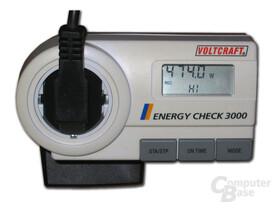 Stromverbrauchsmessung mit Voltcraft Energy Check 3000