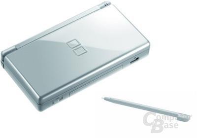 Nintendo DS Lite Silber