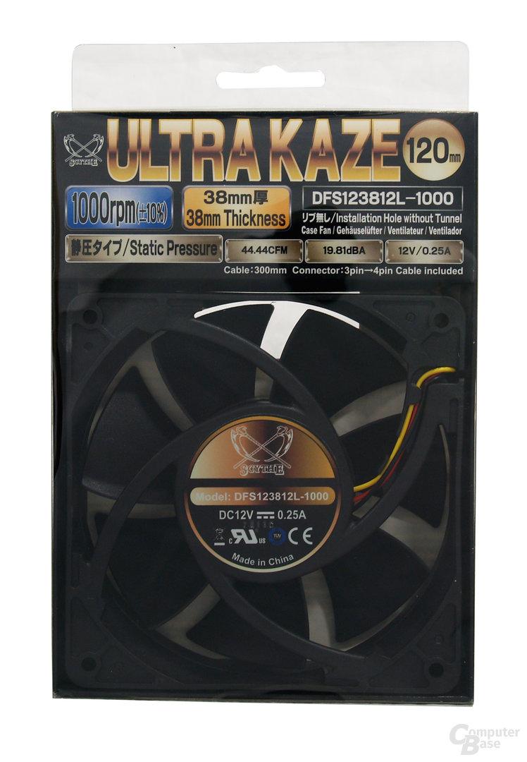 """""""Ultra Kaze 120 1000""""-Verpackung"""