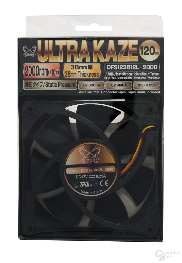 """""""Ultra Kaze 120 2000""""-Verpackung"""