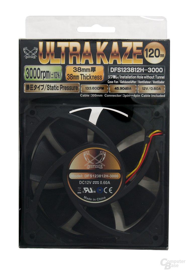 """""""Ultra Kaze 120 3000""""-Verpackung"""