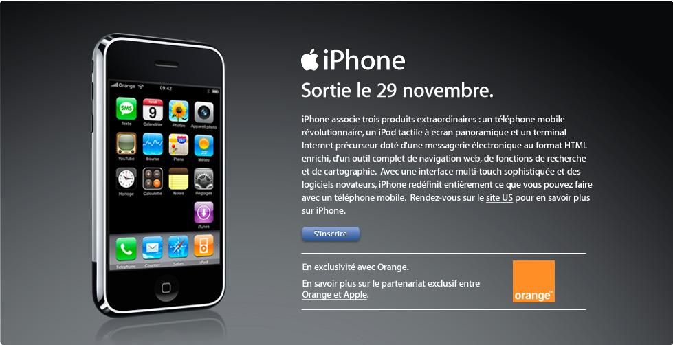 iPhone-Start in Frankreich