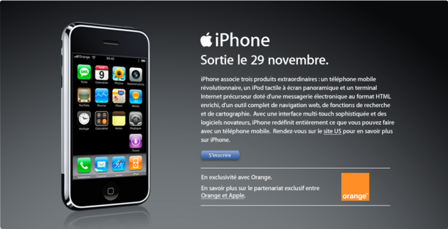 iPhone-Start in Frankreich