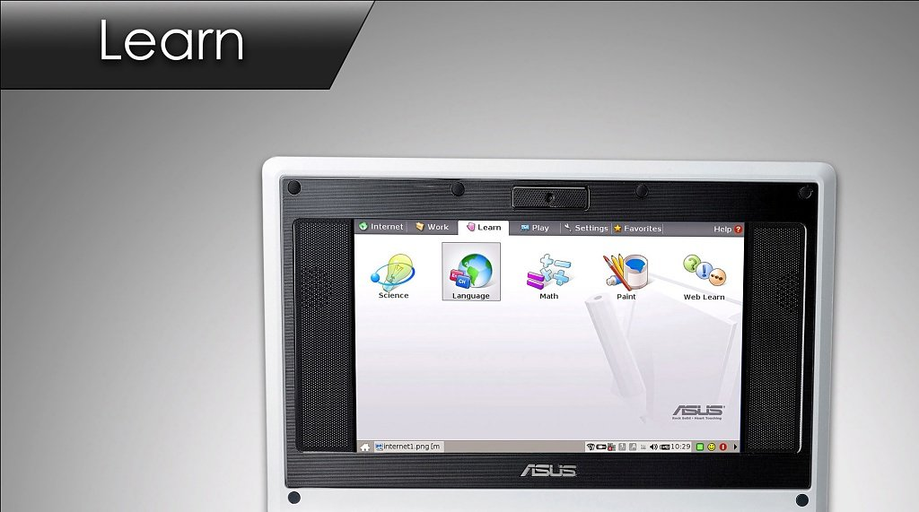 ASUS Eee PC – Learn