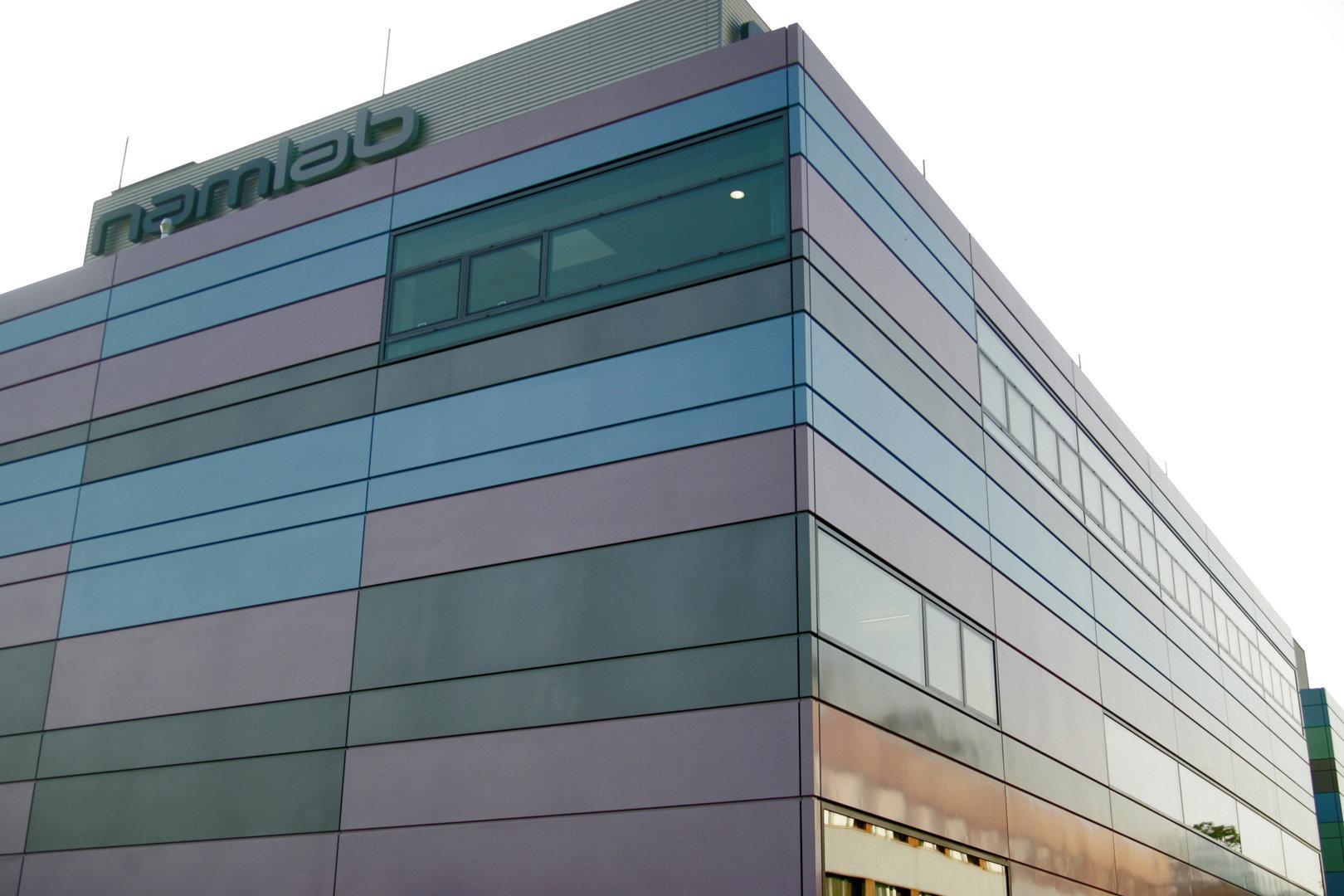 Das neu gebaute Gebäude des NaMLab
