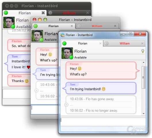 Instantbird – Windows, Mac OS X or Linux