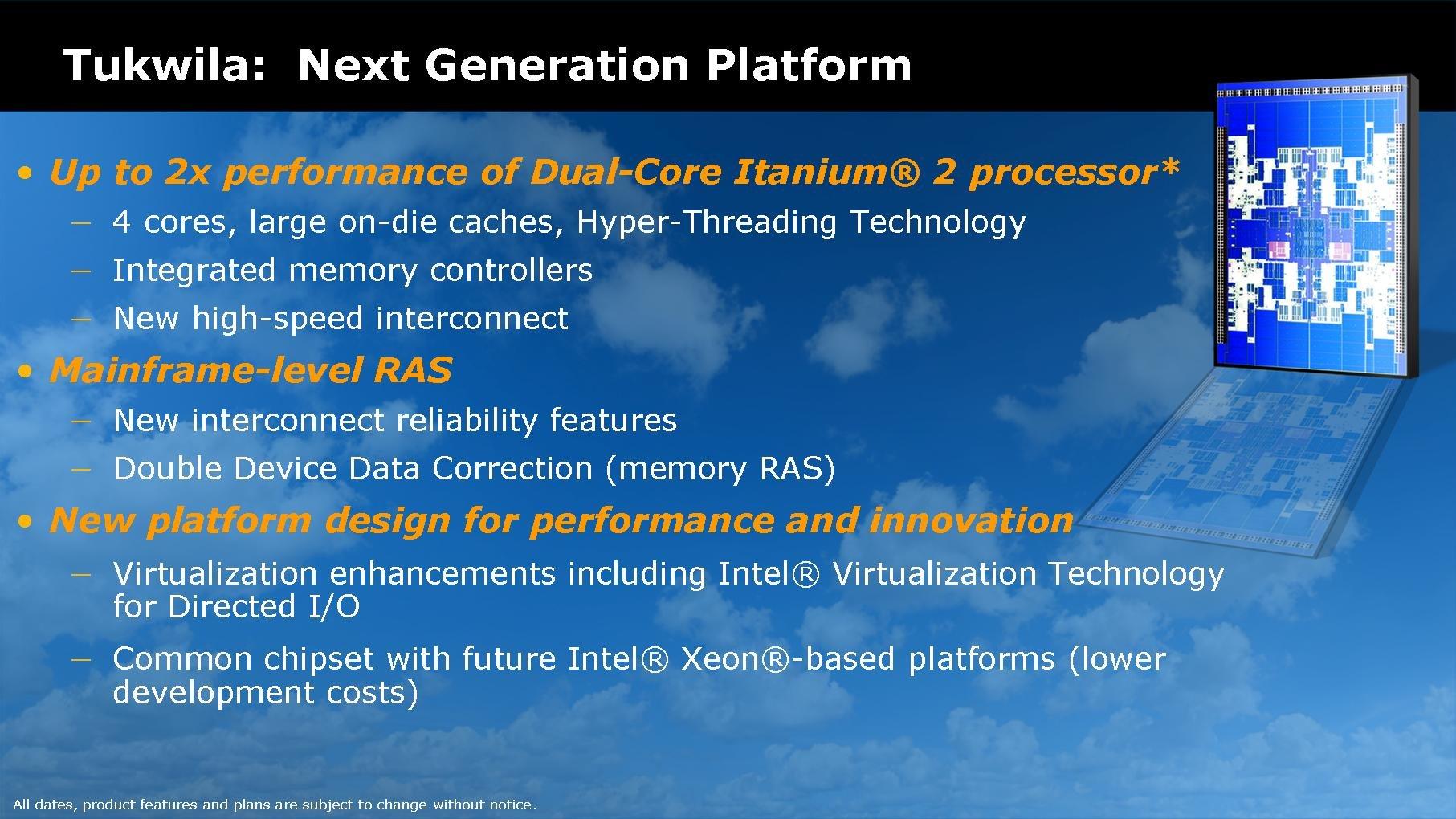 Tukwila – Intels erster Quad-Core-Itanium