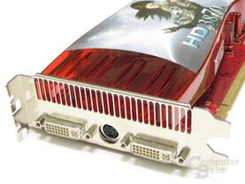 Radeon HD 3870 Slotblech