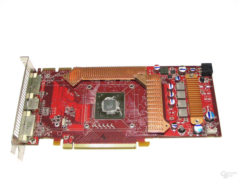 Radeon HD 3870 mit VRAM-Kuehler