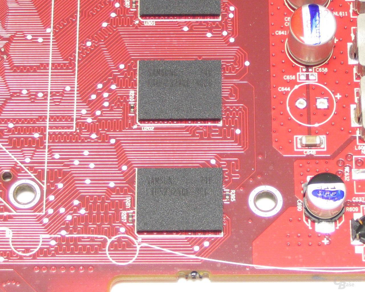 Samsung 0,8 ns GDDR4