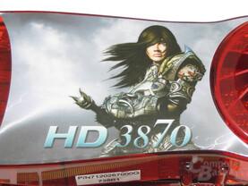 Radeon HD 3870 Aufkleber