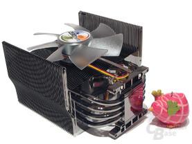 Vernickelter Kühlkörper mit glänzender Verarbeitungsqualität