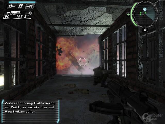 TimeShift – Explodierender Korridor
