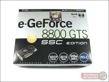 EVGA e-GeForce 8800 GTS SSC-Edition