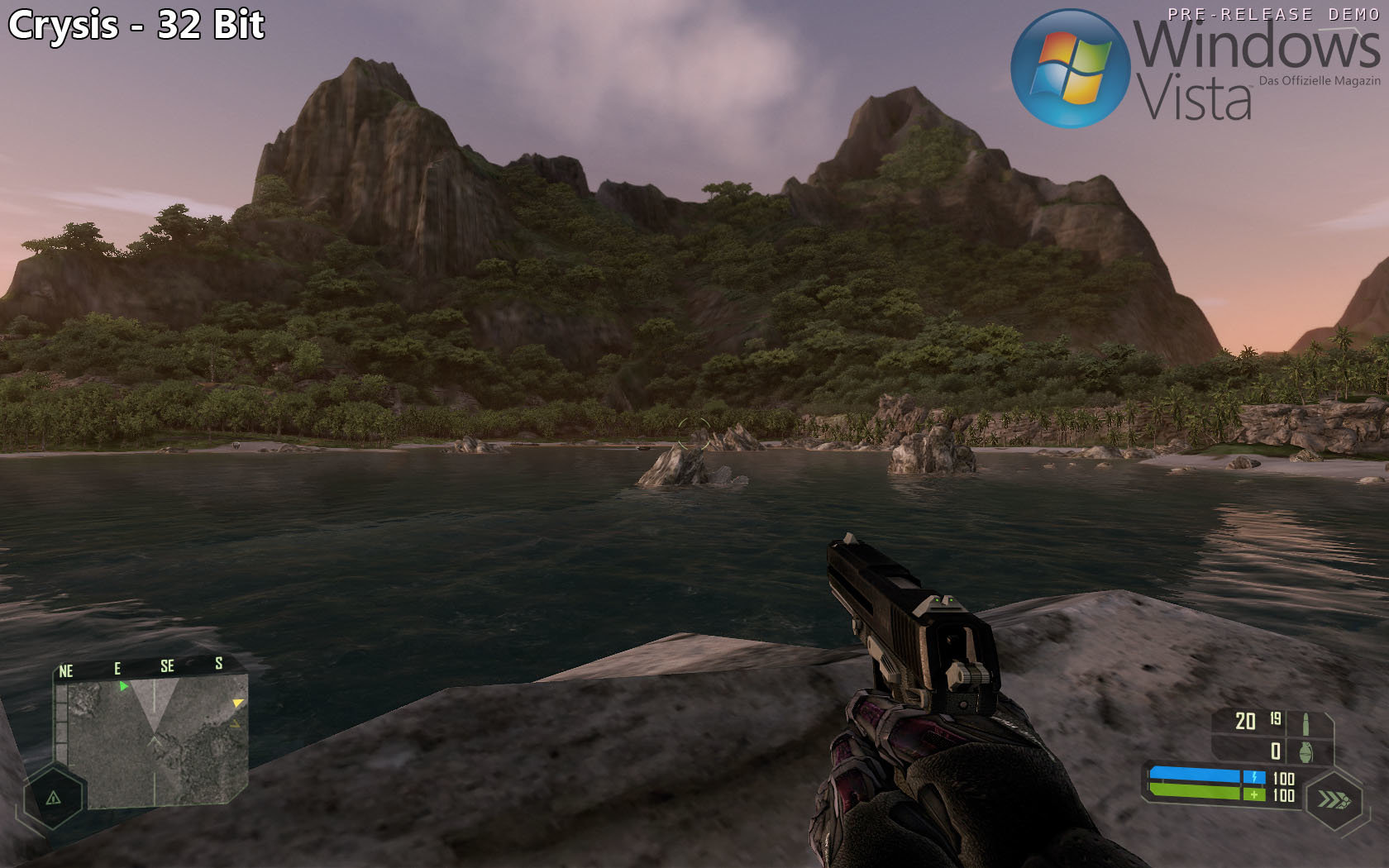 Crysis - Berglandschaft (32 Bit)