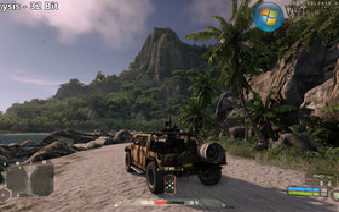 Crysis - Jeep & Berg (32 Bit)