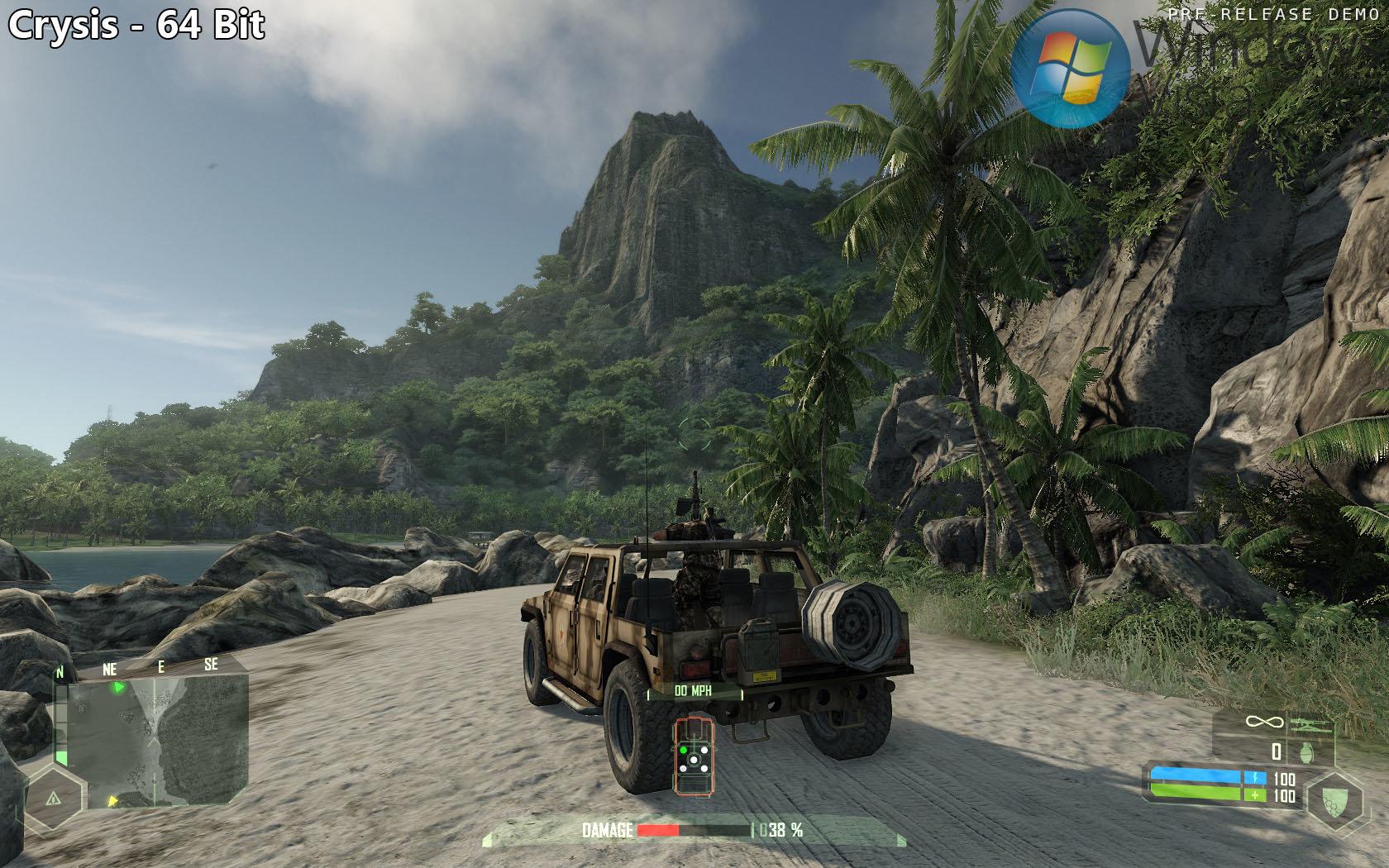 Crysis – Jeep & Berg (64 Bit)