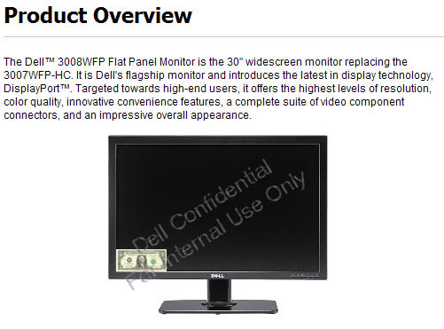 Dell 3008WFP