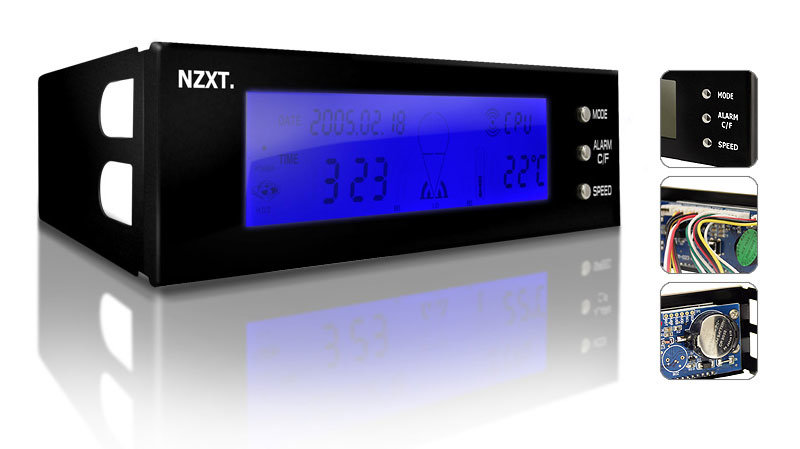 NZXT SENTRY 1 LCD