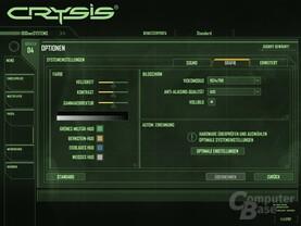Crysis – Empfohlene Grafik-Einstellungen