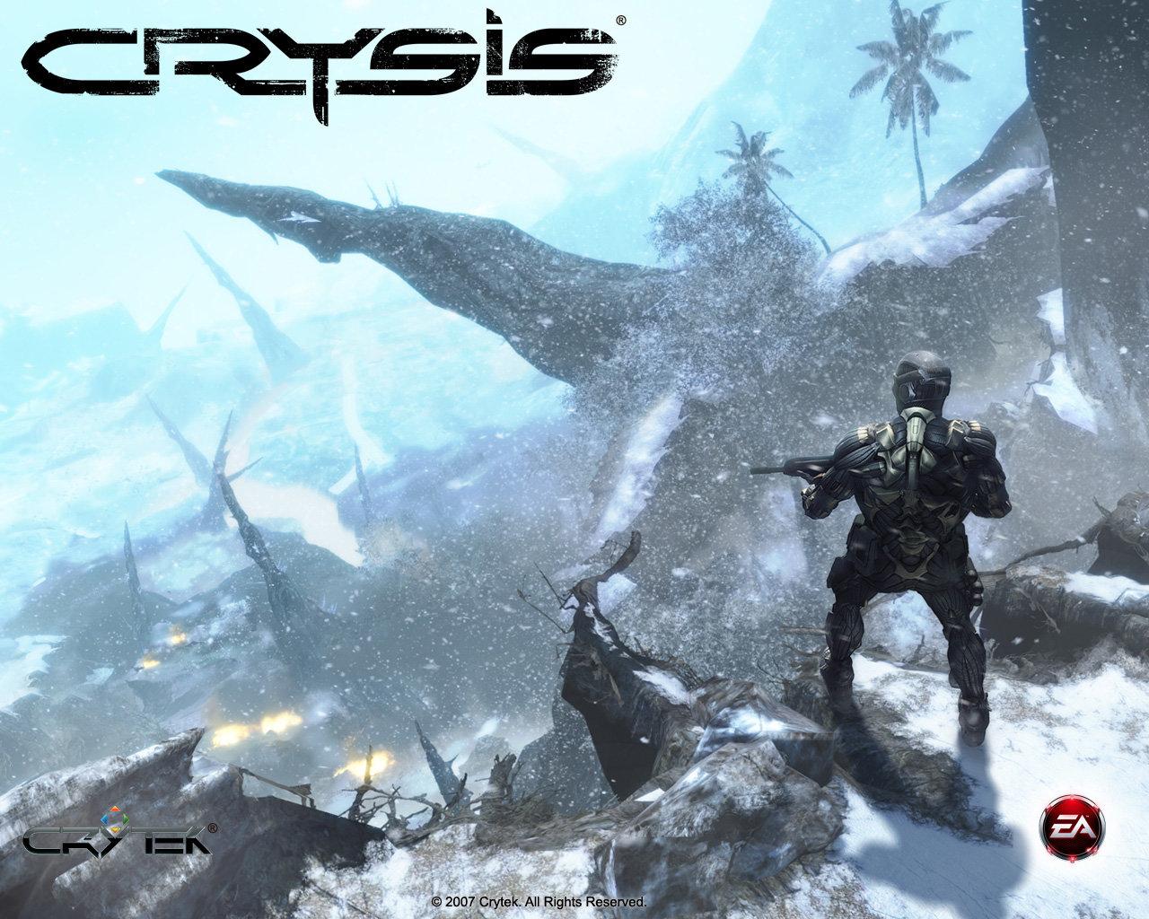 crysis wallpaper my image