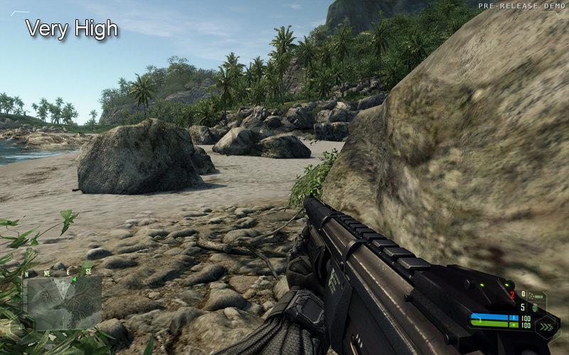 Crysis DX9 VeryHigh