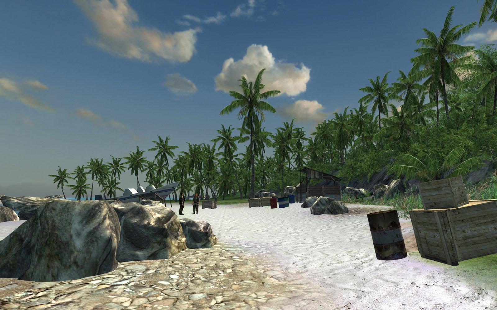 Crysis LOW (DirectX-9)