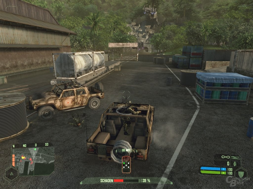 Crysis – Jeep in Aktion