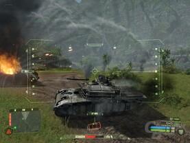 Crysis – US-Panzer in Aktion
