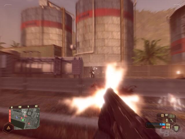 Crysis – Überwiegend Starke KI in Aktion