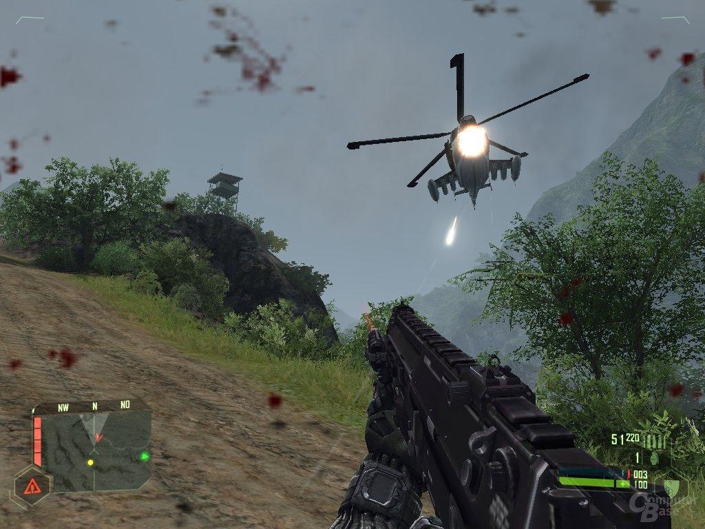 Hubschrauber-Attacken wiegen ohne Raketenwerfer schwer
