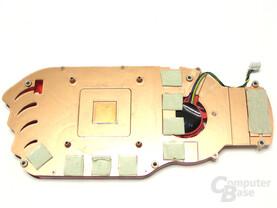 Radeon HD 3850 Kuehler Rueckseite
