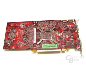 Radeon HD 3850 Rueckseite