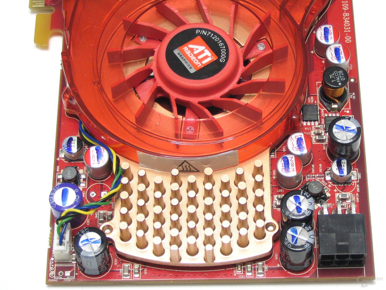 Radeon HD 3850 Spannungswandler