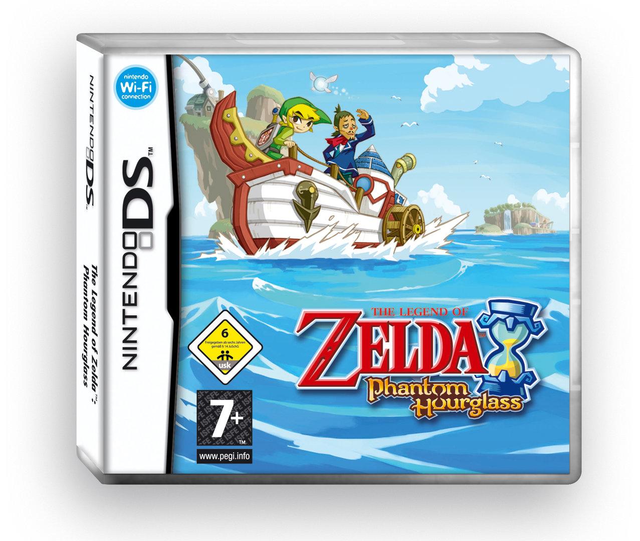Zelda: Phantom Hourglass für den Nintendo DS