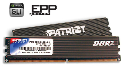 Patriot Memory PDC22G6400LLK, 2 GB DDR2-800