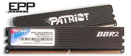 Patriot Memory PDC24G6400LLK; 4 GB DDR2-800