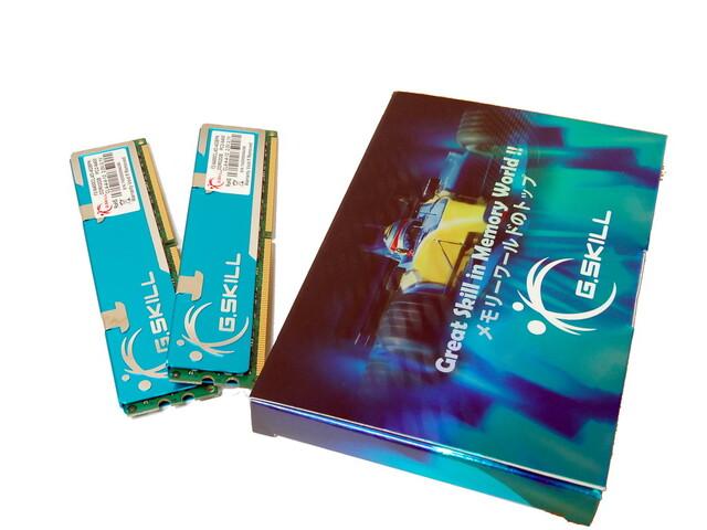 G.Skill F2-6400CL4D-4GBPK (2 GB x 2) EPP Ready