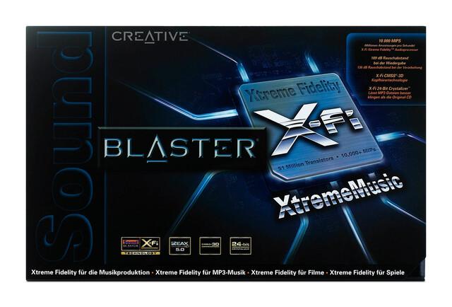 X-Fi Xtreme Music