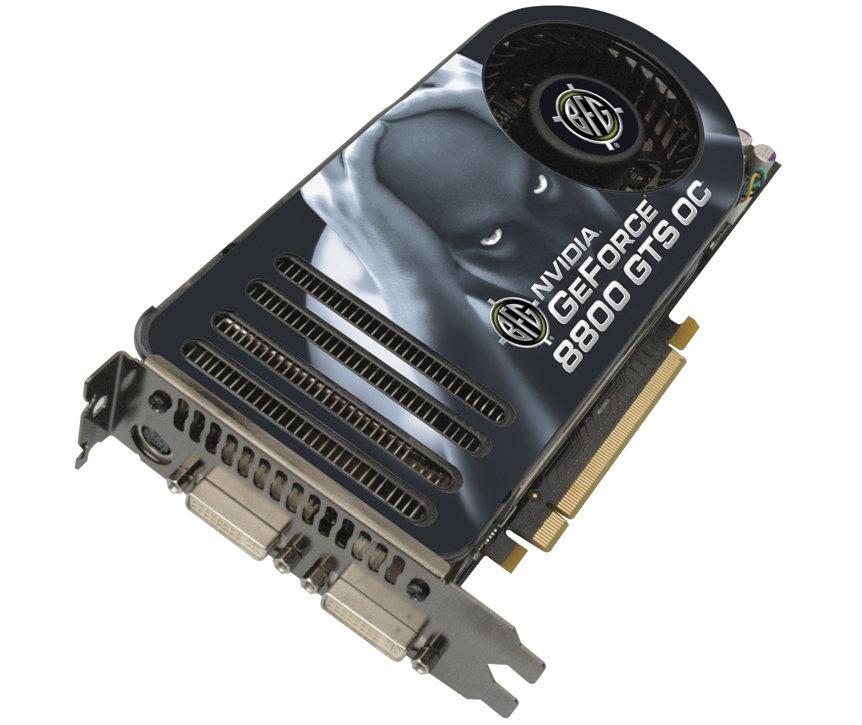 BFG Nvidia GeForce 8800 GTS OC 640 MB PCIe