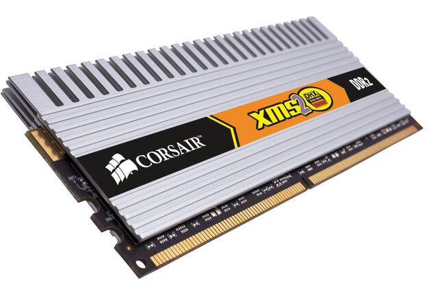 Corsair TWIN2X2048-6400C4DHX, 2 GB DDR2-800 CL4