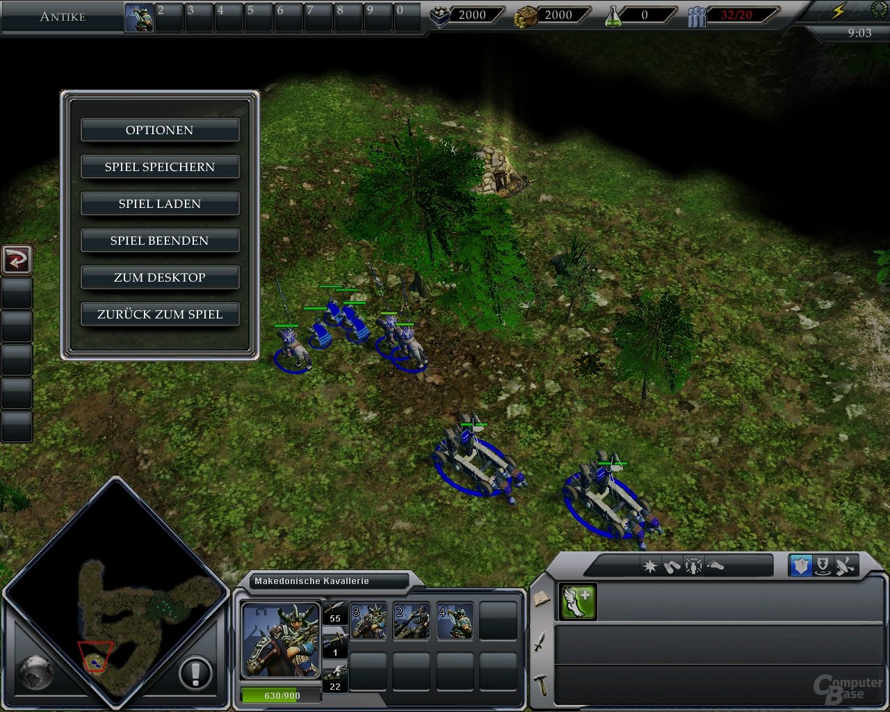 Klobige Einheiten in Empire Earth 3